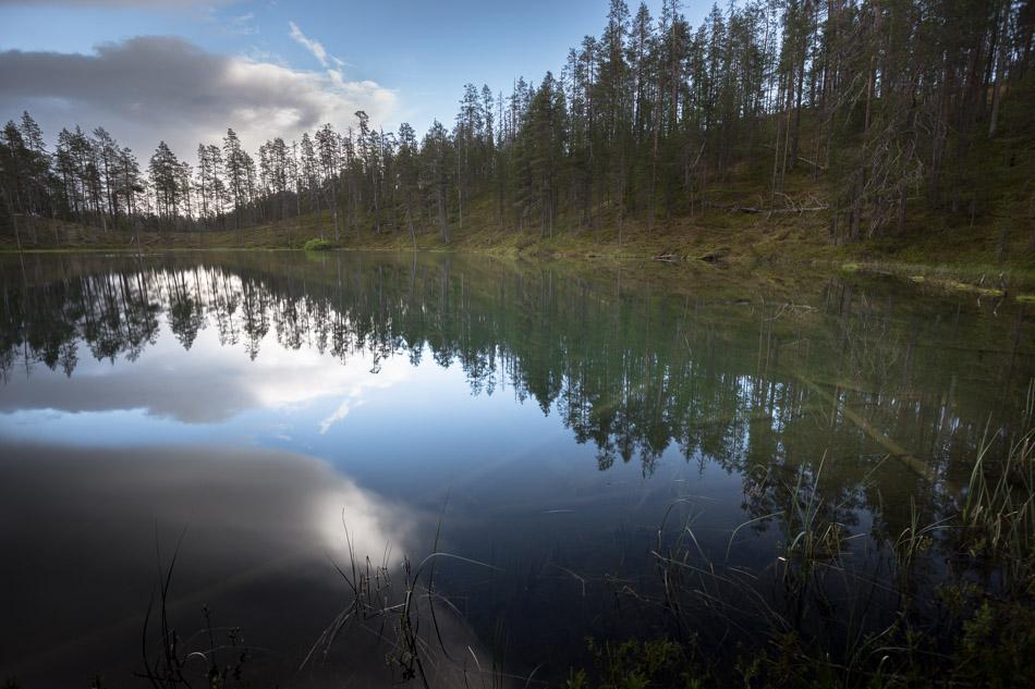 hossa kansallispuisto valokuvataulu