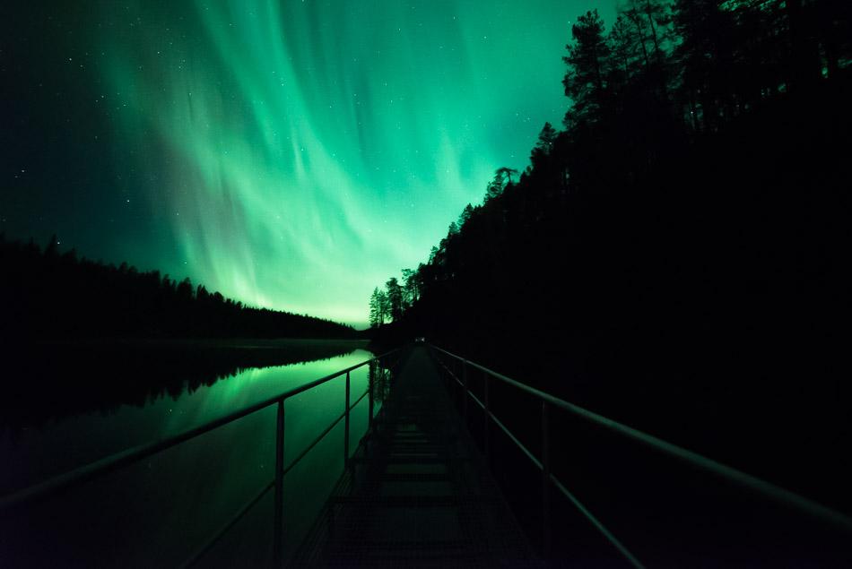 valokuvataulut prints - riku karjalainen - the northern lights